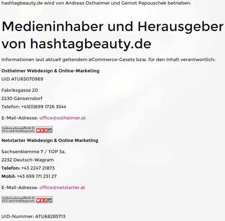 hashtagbeauty-impressum