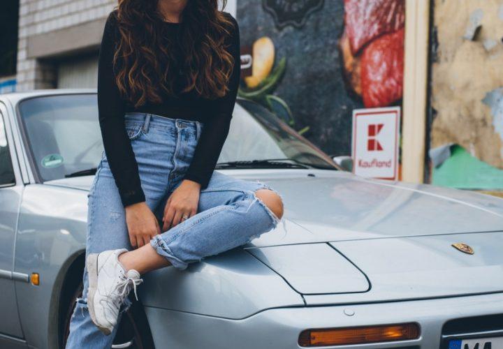 Vintage Jeans für Frauen