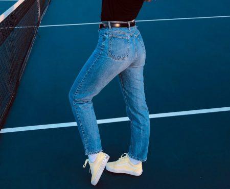 Jeans mit Push-up-Effekt liegen im Trend